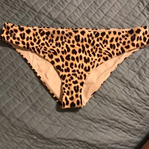 VS PINK leopard bottoms